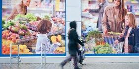 Plakate Lebensmittelhandel