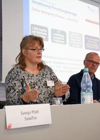 Svenja Pfahl und Stefan Reuyß von SowiTra