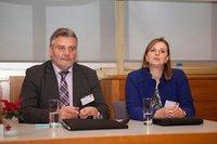 Bernd Holtmeier und Stefanie Lange (Kreispolizeibehörde Paderborn)